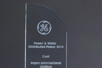 GE 颁发的成本奖