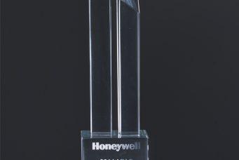 Honeywell 颁发的年度最佳质量和交付奖