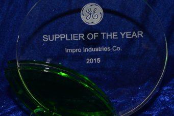 GE 颁发的年度最佳供应商奖
