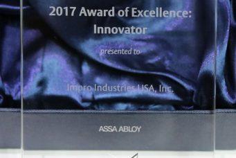Assa Abloy 颁发的杰出创新奖