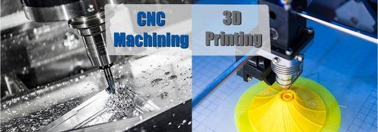 CNC Machining VS 3-D Printing: Pros and Cons