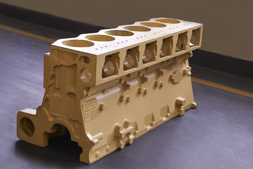 发动机缸体