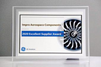 GE 航空颁发的2020杰出供应商奖