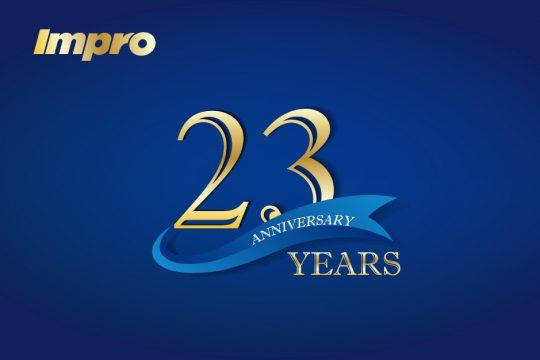 鷹普創立二十三週年誌慶—追求卓越 再創佳績